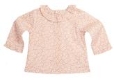 Marie Chantal Marie-Chantal Daisy Print Long Sleeve Ruffle Collar Baby Blouse