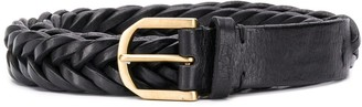 Ajmone Braid Effect Belt