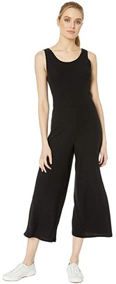 Volcom Lived In Lounge Romper (Black) Women's Jumpsuit & Rompers One Piece