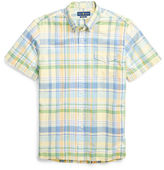 Big & Tall Polo Ralph Lauren Classic Fit Plaid Cotton Shirt
