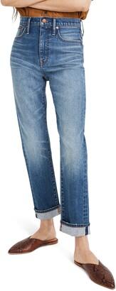 Madewell Selvedge Edition Classic Straight Leg Jeans