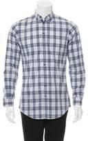 DSQUARED2 Plaid Button-Up Shirt