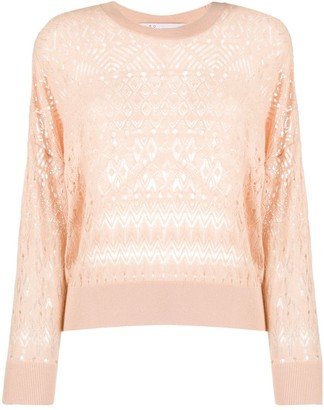 IRO Embroidered Long-Sleeve Jumper