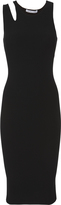 Helmut Lang Slash Rib Midi Dress