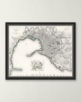 Italian Map Series - Genoa