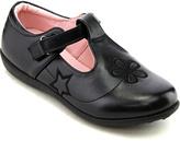 Jelly Beans Black Butterfly Bald T-Strap Shoe