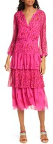 BA&SH Morris Tiered Midi Dress