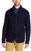 Scotch & Soda Men's Home Alone Chunky Knit Cardigan