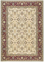 "Kenneth Mink Infinity Persian Ivory/Red 6'6"" x 9'6"" Area Rug"