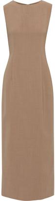 The Row Riah Wool-blend Maxi Dress