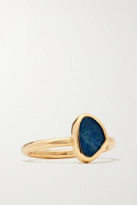 Melissa Joy Manning 14-karat Gold Opal Ring - 6