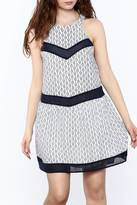 Entro Navy Medallion Dress
