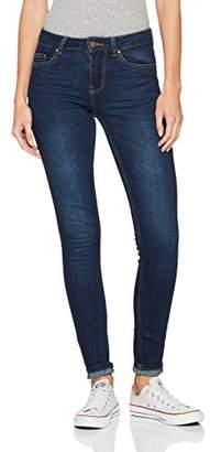 Pieces Women's Pcfive Betty DNM F101 Mw Skn Jn Db/noos Skinny Jeans, (Dark Blue Denim)