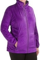 Columbia Blustery Summit Fleece Jacket (For Plus Size Women)