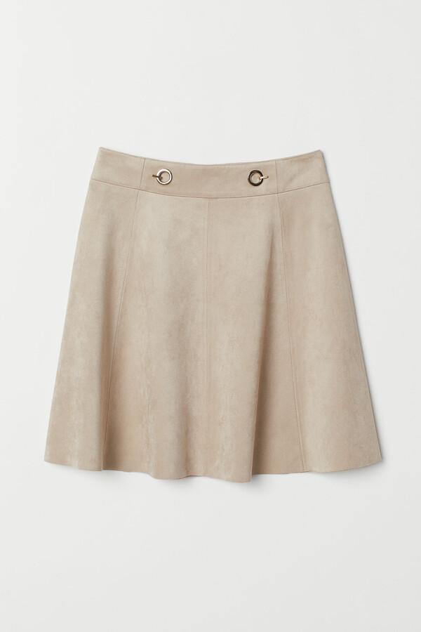H&M Short imitation suede skirt