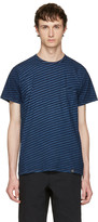 Rag & Bone Indigo Striped James T-shirt