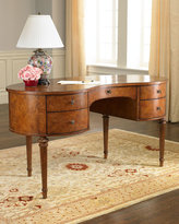 Kidney-Shaped Writing Desk