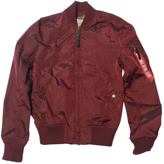 Alpha Industries Burgundy Jacket for Women