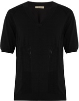 Bottega Veneta V-neck cotton-blend sweater