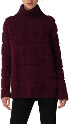 Akris Cashmere & Silk Boucle Sweater