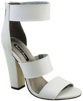 White Chunky Heel Women's Sandals - ShopStyle
