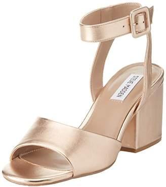 Steve Madden Women's Debbie Open Toe Sandals, Multicolour Rose Gold