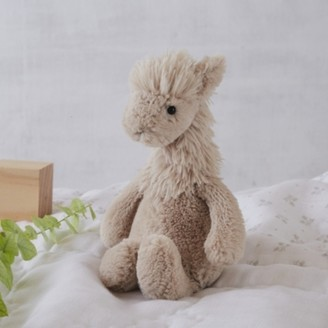 The White Company Jellycat Bashful Luis Llama , Natural, One Size