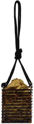 Montunas Vanda Acetate Shoulder Bag W/black Rope