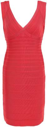 Herve Leger Karima Open-back Bandage Mini Dress
