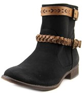 Roxy Skye Round Toe Synthetic Ankle Boot.