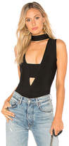 Elliatt Morisot Bodysuit in Black. - size L (also in M,S,XS)