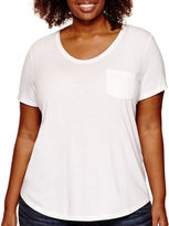 STYLUS Stylus Short Sleeve Voop T-Shirt - Plus