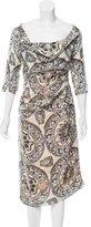Vivienne Westwood Printed Silk Dress w/ Tags