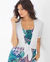 Soma Intimates Short Sleeve Convertible Wrap Bright White