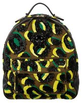 Versace Medusa Embellished Convertible Backpack w/ Tags