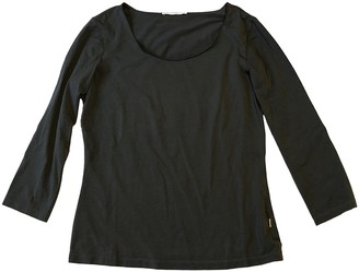 HUGO BOSS Green Cotton Top for Women