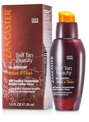 Lancaster NEW Self Tanning Concentrate For Face (A Week in Ibiza) 30ml Womens