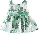 2017 Charberry Summer Baby Girls Princess Sleeveless Print Party Dress