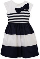 Rare Editions Colorblocked Bow-Detail Dress, Toddler & Little Girls (2T-6X)