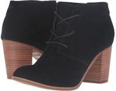 Toms Lunata Lace-Up Bootie Women's Lace-up Boots