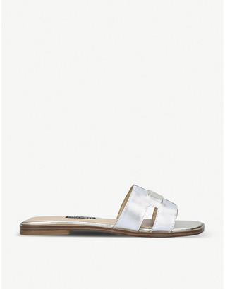 Nine West Gianna metallic leather sandals