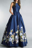 Basix II Floral Ball Gown