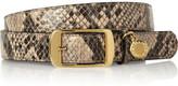 Stella McCartney Faux python belt