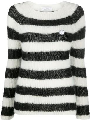 Societe Anonyme Striped Knit Jumper
