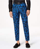 INC International Concepts I.n.c. Men's Slim-Fit Leaf-Print Pants, Created for Macy's
