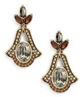 Heidi Daus Faithfully Yours Swarovski Crystal & Multicolor Rhinestone Drop Earrings