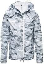 Superdry HOOD POPZIP Summer jacket ice/ecru