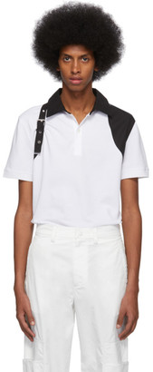 Alexander McQueen White Harness Polo