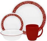 Corelle Livingware Bandhani 16-pc. Dinnerware Set