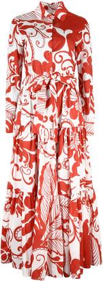 La DoubleJ Bellini Belted Shirtdress